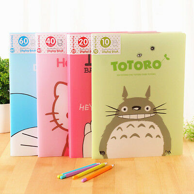 10-60 Pocket Student A4 Display Presentation Document Folder Book File Portfolio
