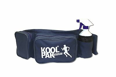 KOOLPAK PHYSIO BUM BAG with 2 ICE PACKS - bottle not included