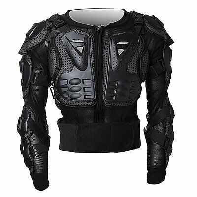 Body Armour Motorcycle Motorbike Motocross spine Protector Guard Bionic Jacket O