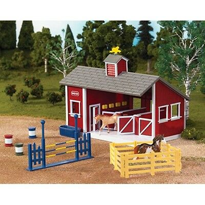 Breyer Stablemates Little Red Stable