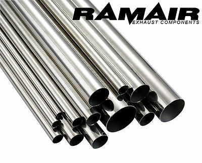 "RAMAIR 500mm 3"" Inch 76mm 304 Stainless Steel Exhaust Tube Pipe Exhaust Straight"