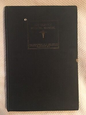 Air Service Medical Manual 1918 War Department Government Printing Office WW1