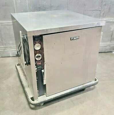 FWE Stainless Mobile 1 Door Heated Holding Cabinet Model UHS -4