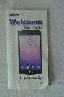 LG Optimus F60 Welcome Start Guide