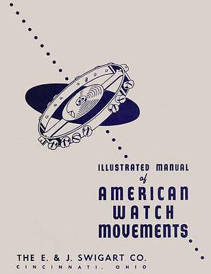 Swigart Illustrated Manual of American Watch Movements in searchable PDF format