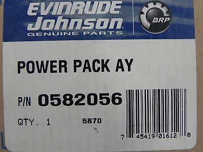 Evinrude Johnson Outboard Power Pack Factory OEM P# 582056