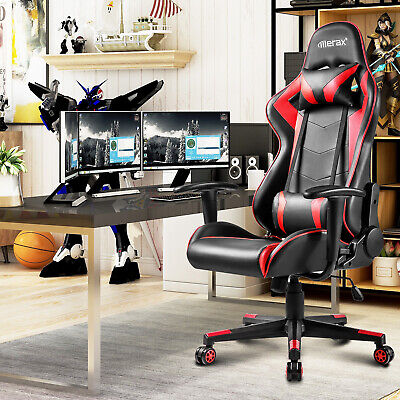 Fine High Back Office Gaming Chair Headrest Racing Recliner Ocoug Best Dining Table And Chair Ideas Images Ocougorg