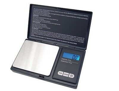 Precision Electronic 200g/0.01g Pocket Jewelry Digital Scale Diamond Weight LCD