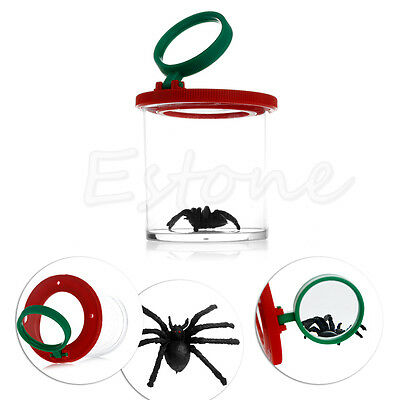 Insects Box Magnify Viewer 2 Lens Magnification Child Toy Entomologists