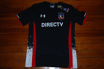 finest selection 85139 ceac1 NEW UNDER ARMOUR Club Social Y Deportivo Colo Colo Soccer Jersey (Large)  Chile