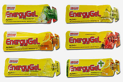 HIGH5 SPORTS ENERGY GELS Mixed Box 10 Pack - Nutrition Cycling Triathlon Running