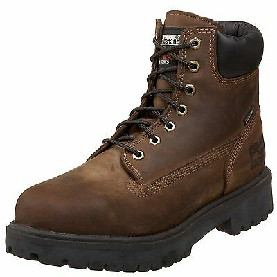 Timberland PRO Direct Attach 6 Steel Toe 38021 Waterproof Insulated Boot Brown
