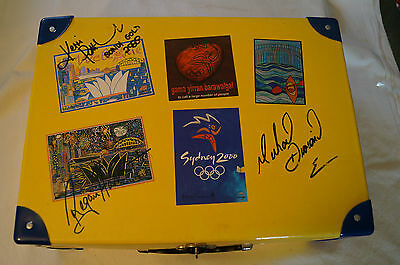 Olympic Games Collectable - Sydney-2000-Mini Case -signed -Kerri Pottharst - COA