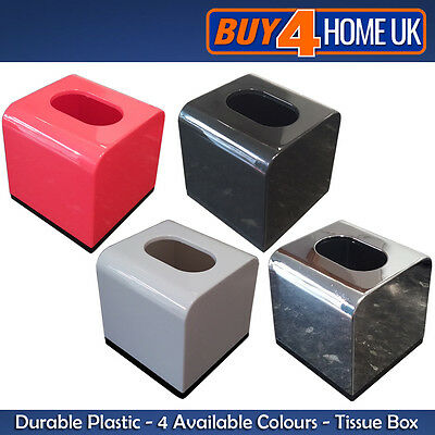 Modern Cube Tissue Box Holder Container - Durable Quality