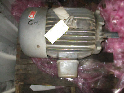 Toshiba 60 HP 3 Phase Induction Motor- Recon