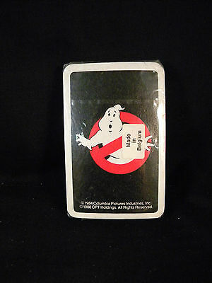 Very Rare Sealed 1986 Columbia Pictures Ghostbusters Movie Card Game