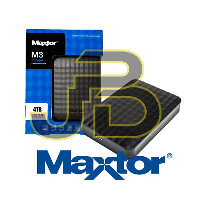 "Hard Disk Esterno 2,5"" 4tb 4 Tb Samsung/Maxtor Usb 3.0 4000gb Macbook Os/Windows"