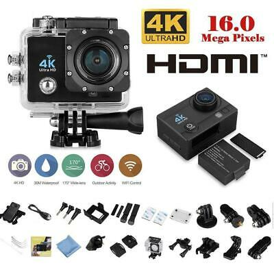 Pro Cam 4K SPORT WIFI ACTION CAMERA ULTRA HD VIDEOCAMERA SUBACQUEA GOPRO EMMD