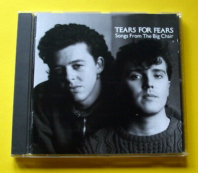 """Cd """" Tears For Fears - Songs From The Big Chair """" 8 Songs (Shout)"""