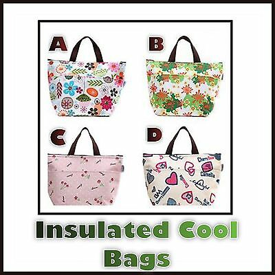 Cool Bag School Picnic Lunch Box Insulated Small Thermal Cooler Novelty Uk New