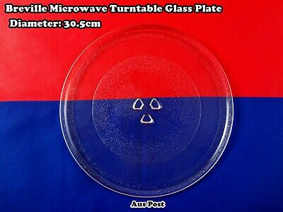 Microwave Oven Glass Turntable Plate Platter 320mm Suits Many Brand (A113) New