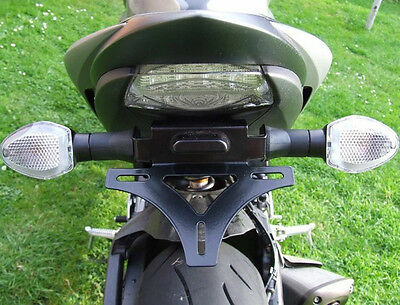 Suzuki GSX-S1000F 2016 SP Engineering Stainless Tail Tidy / Fender Eliminator