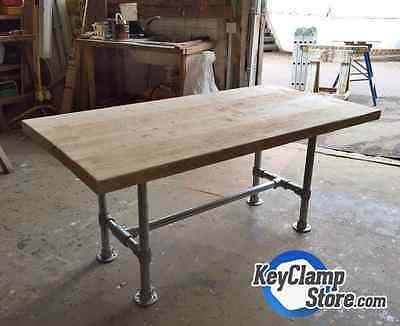 Key Clamp DESK421 - Key Clamp, Scaffold Industrial Pipe Table / Desk Frame Only!