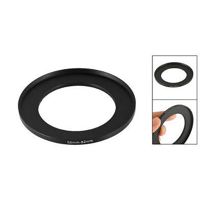 FP 58mm to 82mm mera Filter Lens 58mm-82mm Step Up Ring Adapter