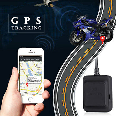 Car Motorcycle GPS Tracker Anti-theft Positioning GSM GPRS Tracking Device