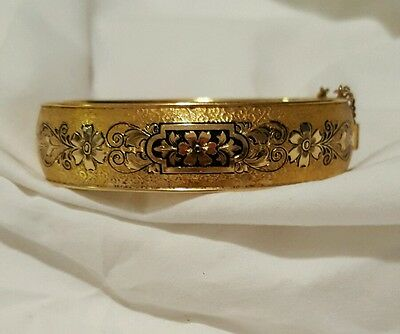 Bates And Bacon 10K Gold Filled Bangle