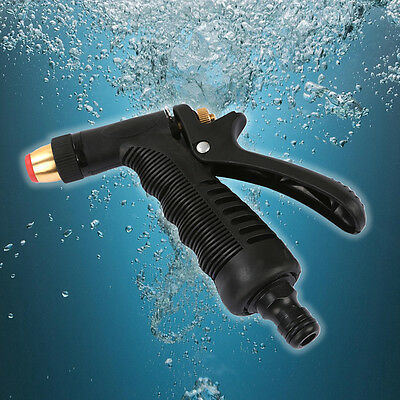 High Pressure Water Hose Nozzle Copper Head Home Garden Car Washing Sprayer New