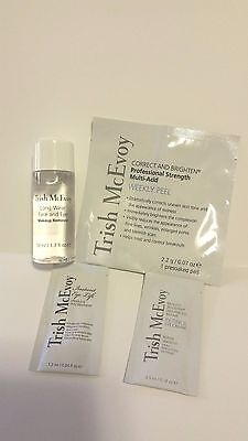 NIP Trish McEvoy Weekly Peel, Retinol Eye Cream, Instant Eye Lift & Makeup Remvr