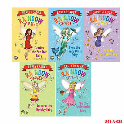 Rainbow Magic Early Reader 7 Books Collection Set Gift Wrapped Slipcase New Pack