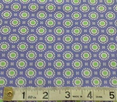 Hi De Ho Flower Fabric sewing patchwork fat quarters 100/% cotton  22257-17