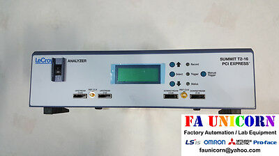 [LeCroy] Summit T2-16 Analyzer for PCI Express PE038AAA-X with bus probe