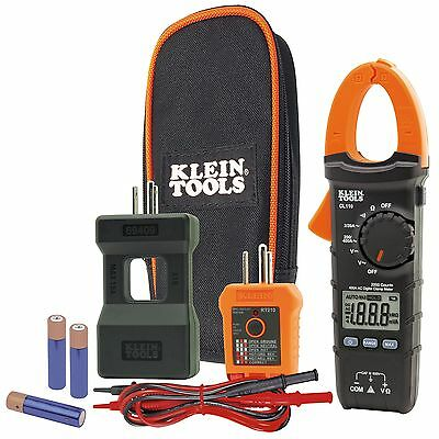 Klein CL110KIT Electrical Maintenance and Test Kit w/ CL110 Tester Splitter