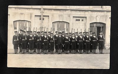 C1910 View of the Naval Guard on Parade, Plymouth