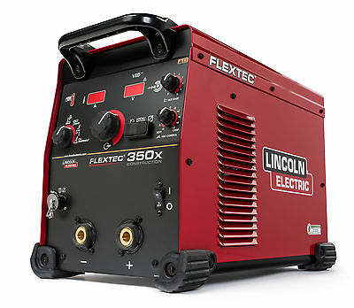 Lincoln Flextec 350X Multi-Process Welder Construction Model K4271-1