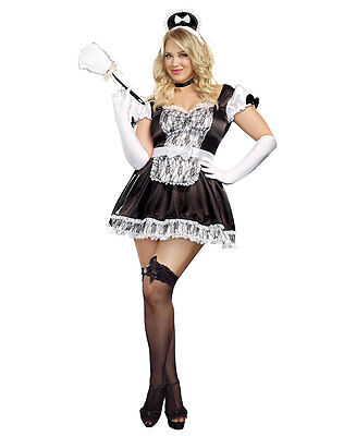 New Dreamgirl A9507X Plus Size Maid For You Costume