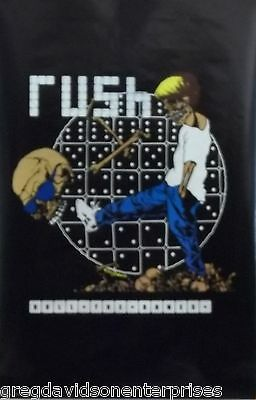Rush 23x35 Roll The Bones Poster 1991 Pushead Art