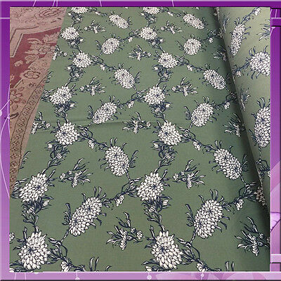 97% Polyester 3% Spandex Fabric 58 Inches Wide Sold Bty Olive / Navy Blue