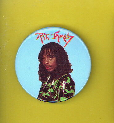 Rick James 1982 OFFICIAL original badge button pinback TT
