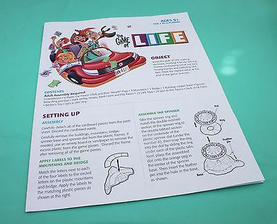 The Game Of Life Spare Part Of Replacement Ed 2007 Building 5