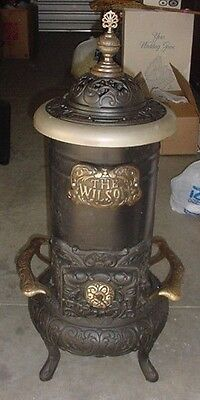 Antique Victorian Fireplace Wood Stove Removed From 1850s House Amazing Design