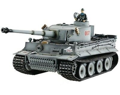 1:16 Taigen German Tiger I RC Tank Early Version 2.4GHz Airsoft Metal Edition
