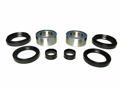 2000-2006 Honda Rancher 350 FE FM ATV 4x4 Front Wheel Bearing & Seal Kit Pair