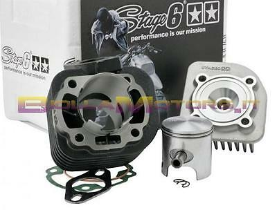 S6-7216650 Gruppo Termico Stage 6 Streetrace 70Cc D.47 Ghisa Aria Spin10 Minarel