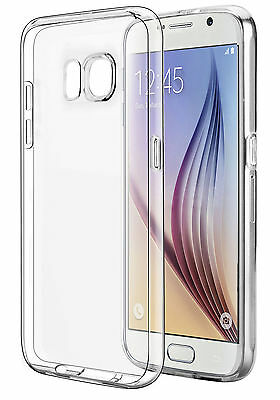 CLEAR ULTRA SLIM TRANSPARENT TPU SILICONE CASE COVER FOR SAMSUNG GALAXY S7 Edge