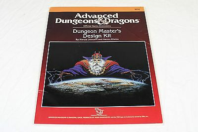 AD&D 1988 Dungeon Master's Design Kit TSR 9234 Advanced Dungeons and Dragons D&D