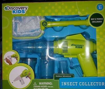NEW Discovery Kids Insect Collector Kit Teach Sucks Up Bugs!!
